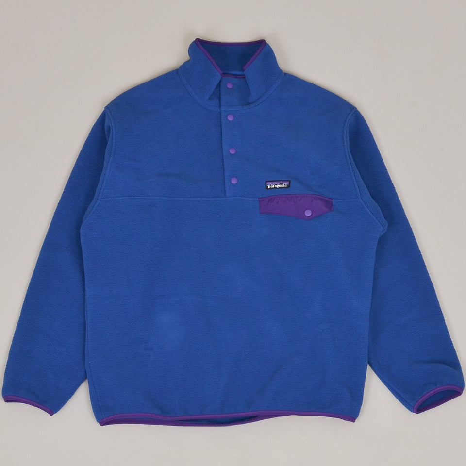 Patagonia Synch Snap-T Pullover - Superior Blue