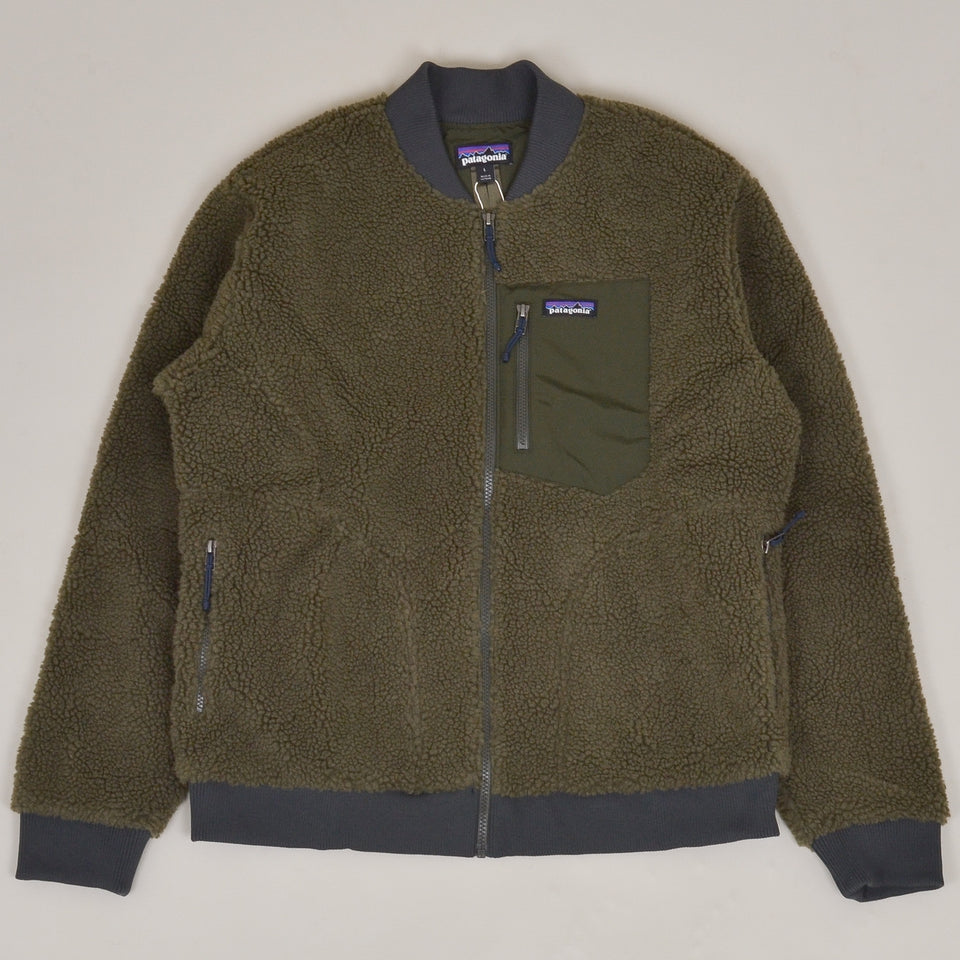 Patagonia Retro-X Bomber Jacket - Basin Green