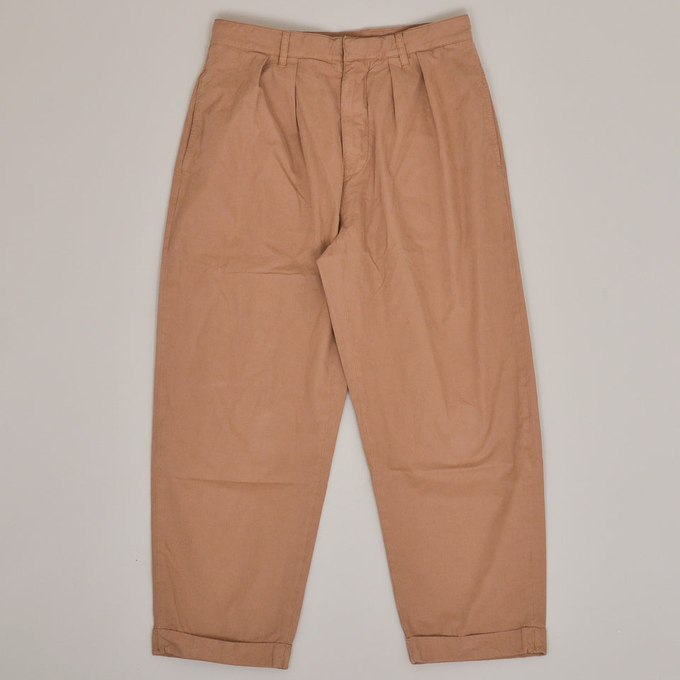Albam Havana Double Pleat Trouser - Sand