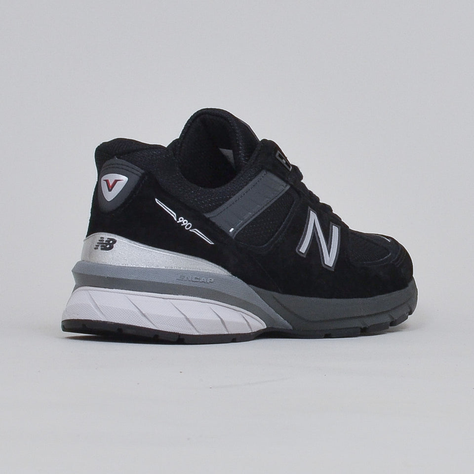 New Balance Made in US 990v5 - Black/Silver