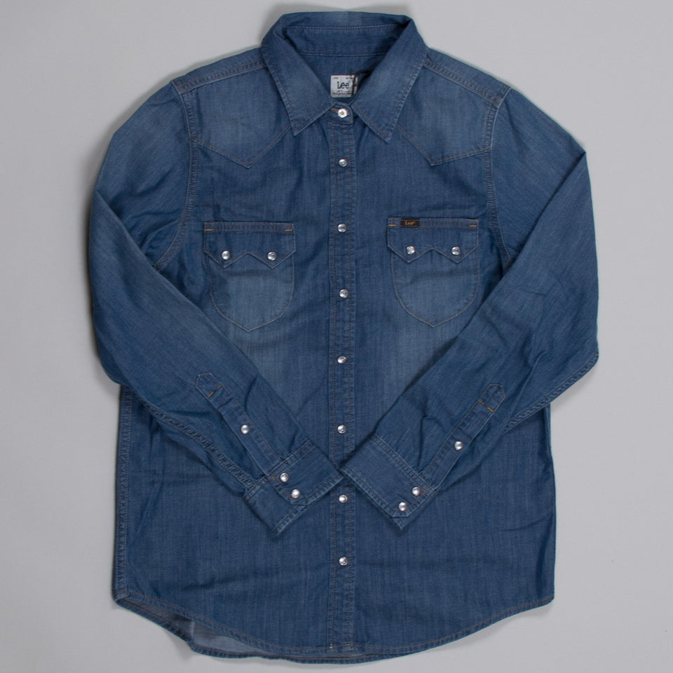 Lee Ladies Rider Shirt - Denim