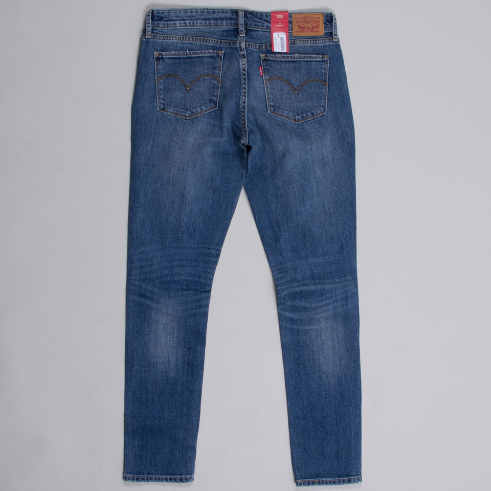 Levi's 711 Skinny Star Gaze Washed