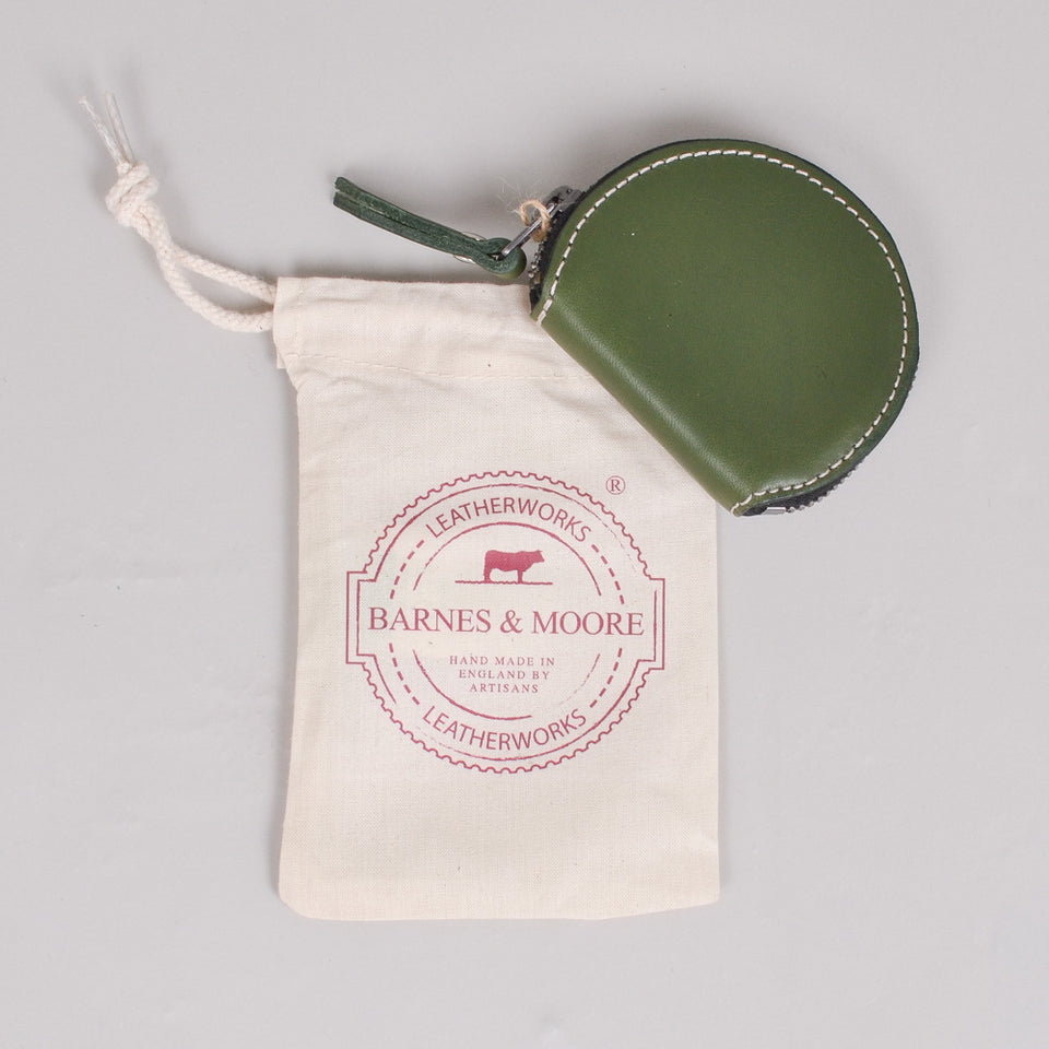 Barnes & Moore Merchant Coin Purse Fern Green