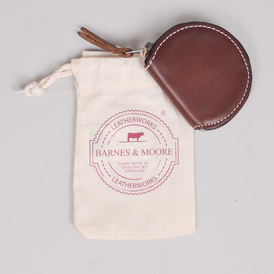 Barnes & Moore Merchant Coin Purse Coffee