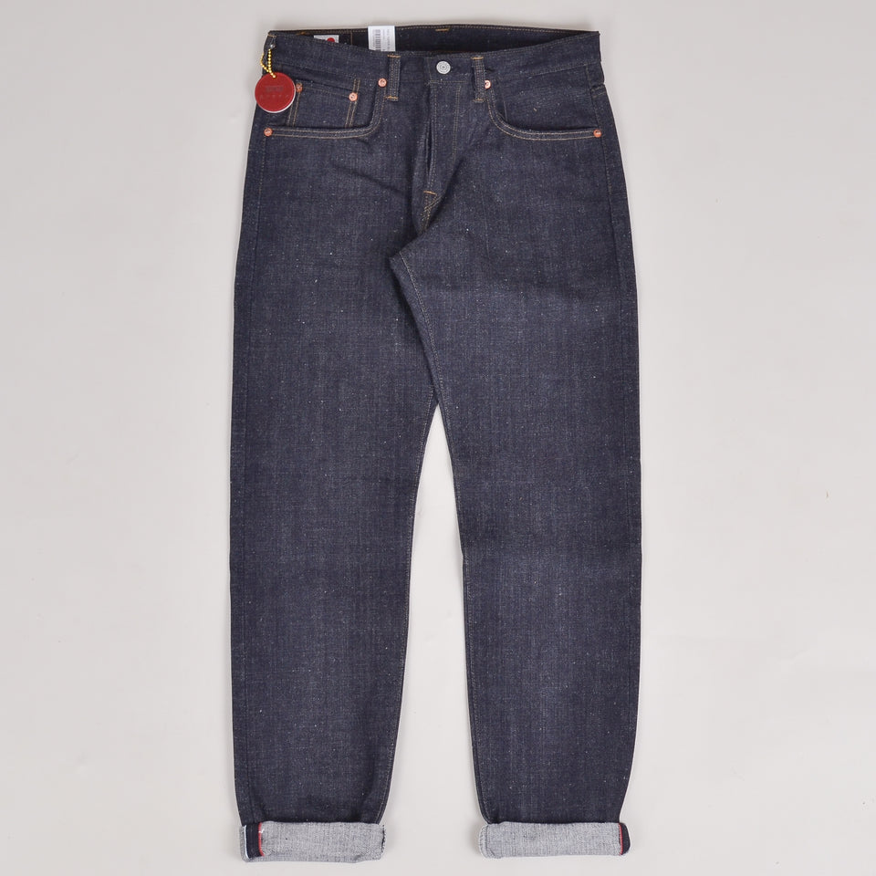 Edwin Made in Japan Nihon Mempu Regular Tapered - Open Weave Raw Unwashed