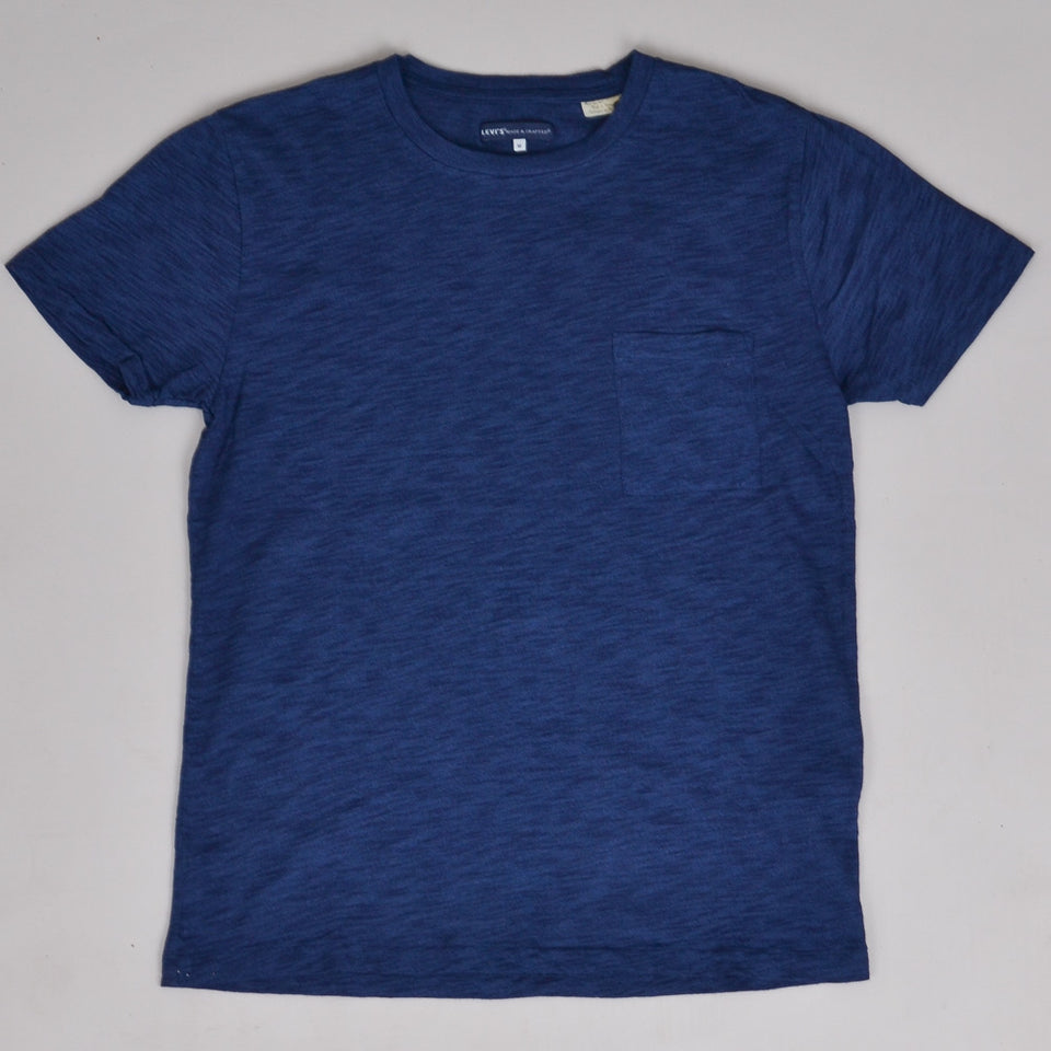 Levi's Made & Crafted Pocket Tee - Washed Blue Indigo