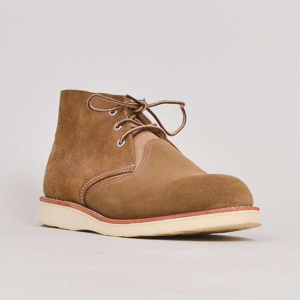 Red Wing Classic Chukka - Olive Mohave