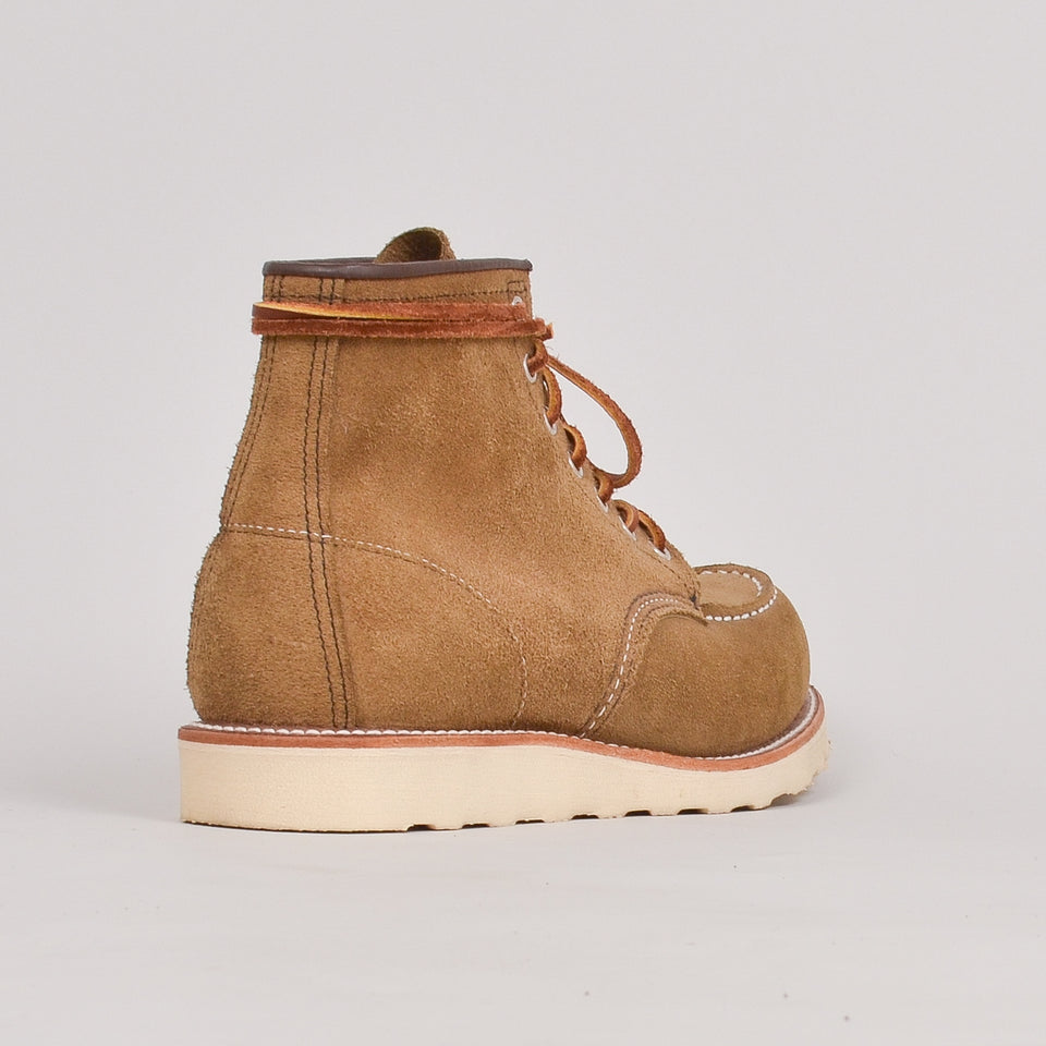 "Red Wing 6"" Moc Toe - Olive Mohave"""