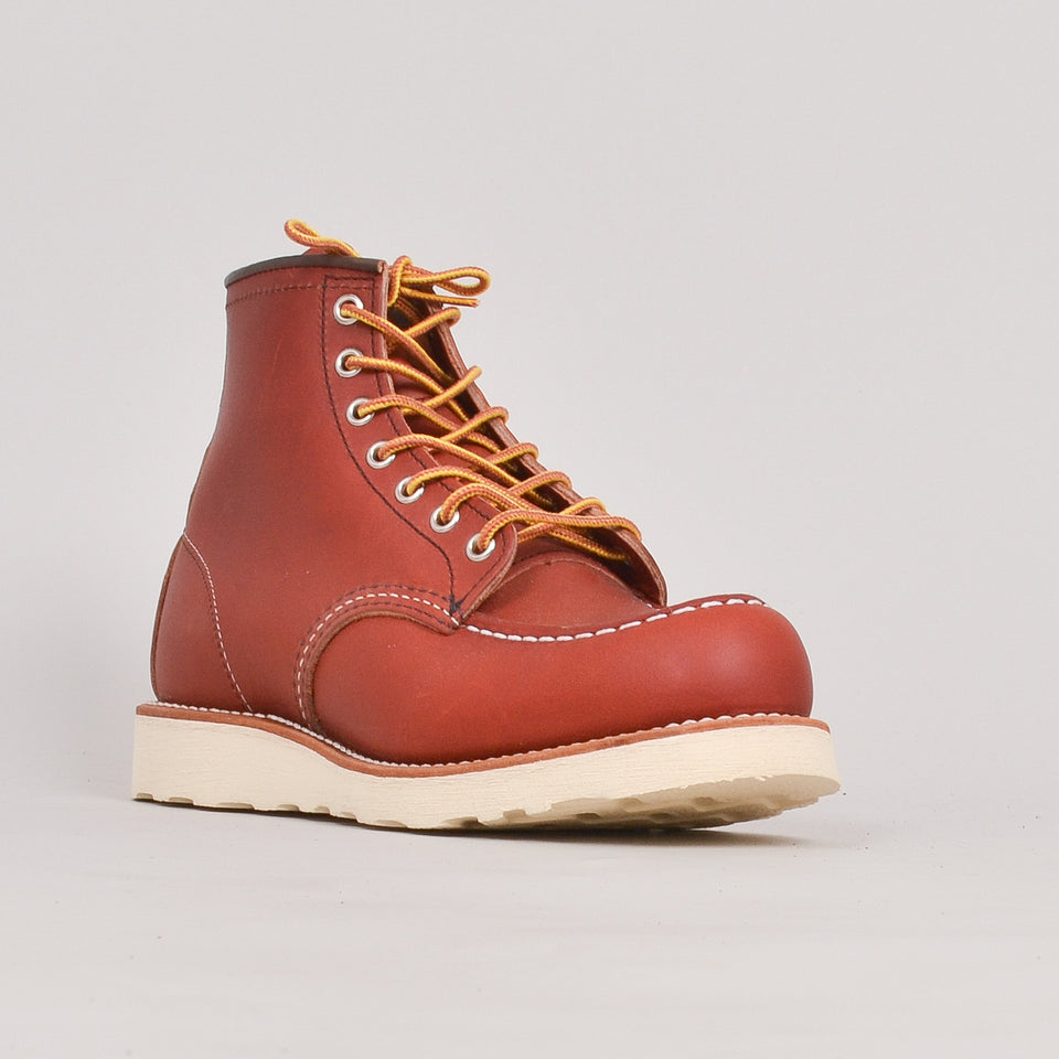 "Red Wing 6"" Moc Toe - Oro-Russet"""