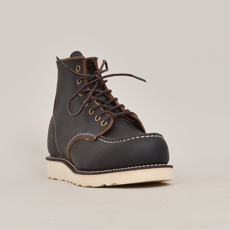 "Red Wing 6"" Moc Toe - Black Prairie """