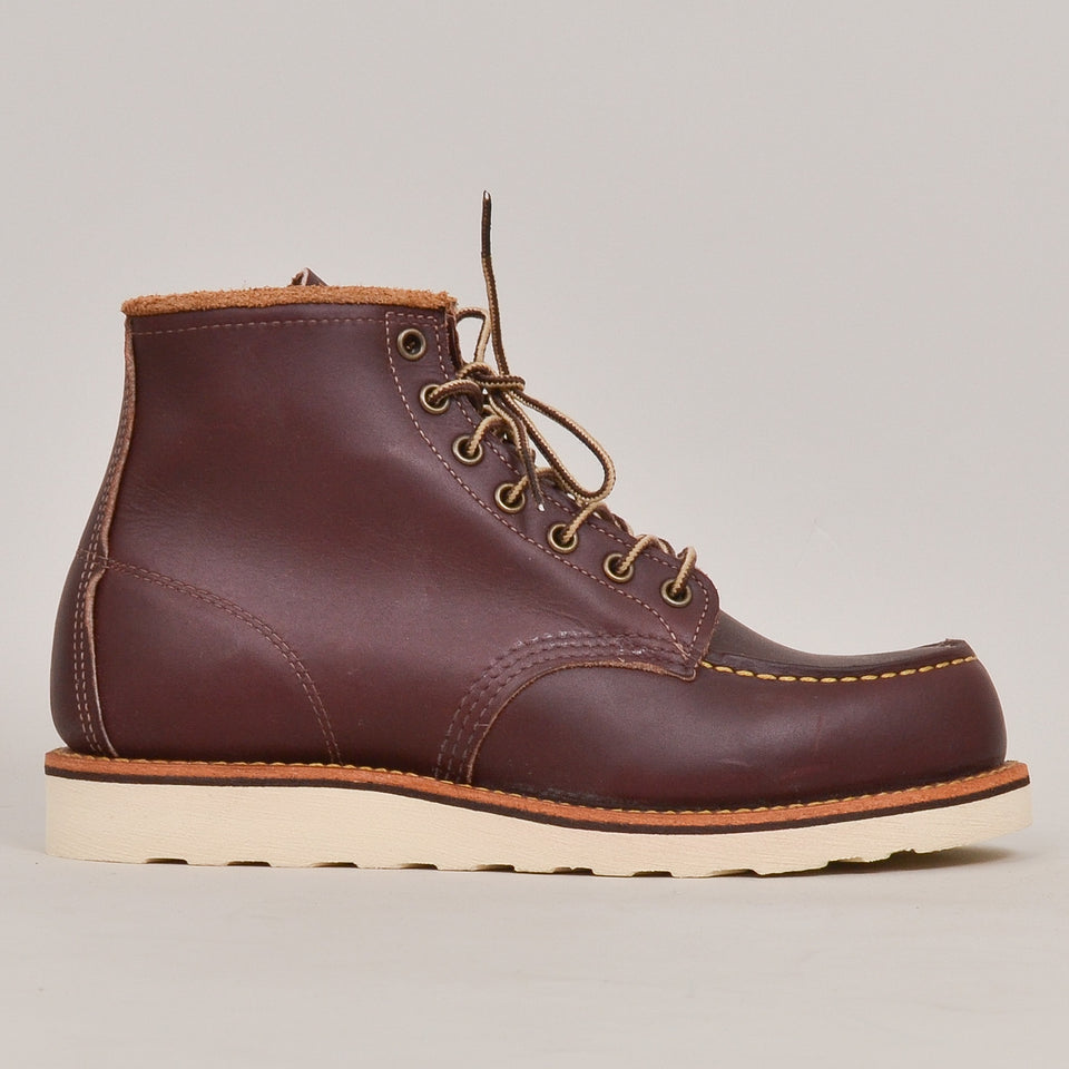 "Red Wing 6"" Moc Toe - Oxblood Mesa"""