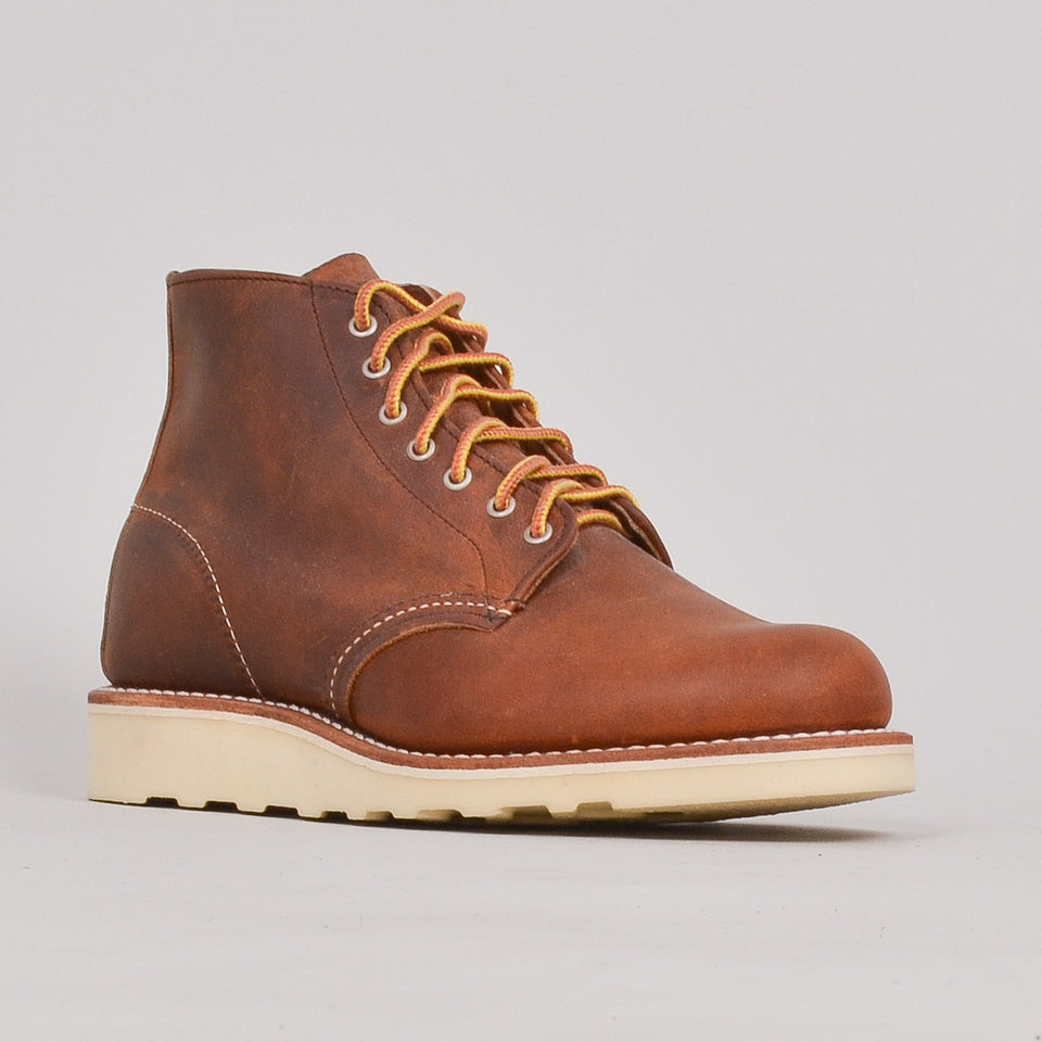 Red Wing Ladies 6\ Round Toe - Copper ""