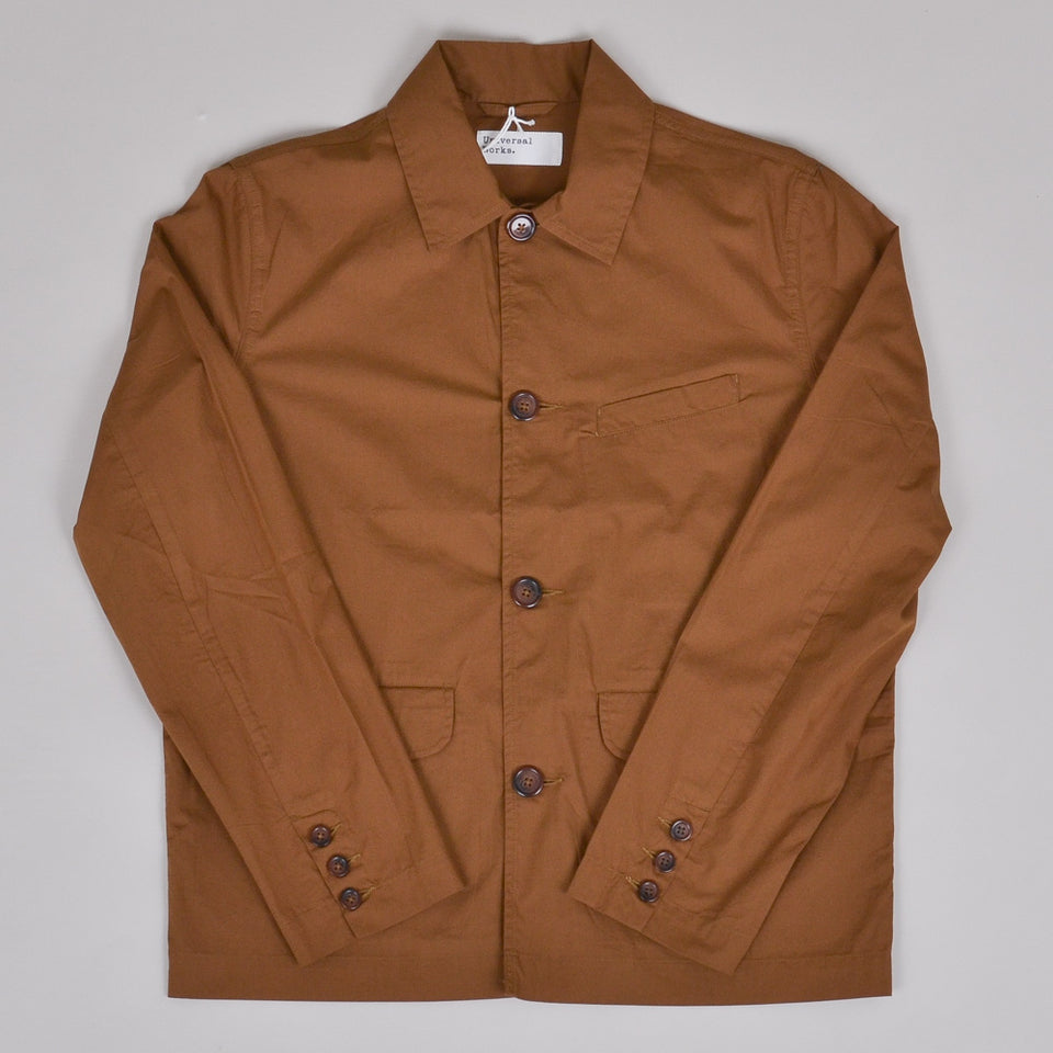 Universal Works Warmus Jacket Poplin - Khaki