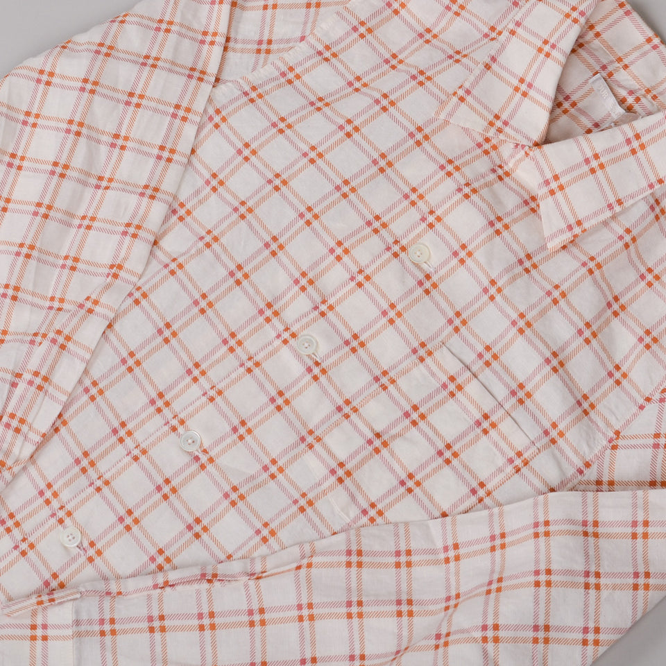 Our Legacy P.X. Evening Shirt - Red Check