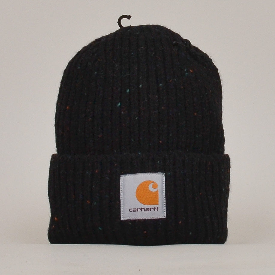 Carhartt WIP Anglistic Beanie - Black Heather