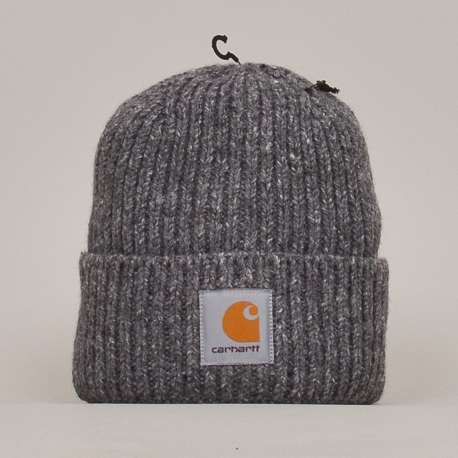 Carhartt WIP Anglistic Beanie - Dark Grey Heather
