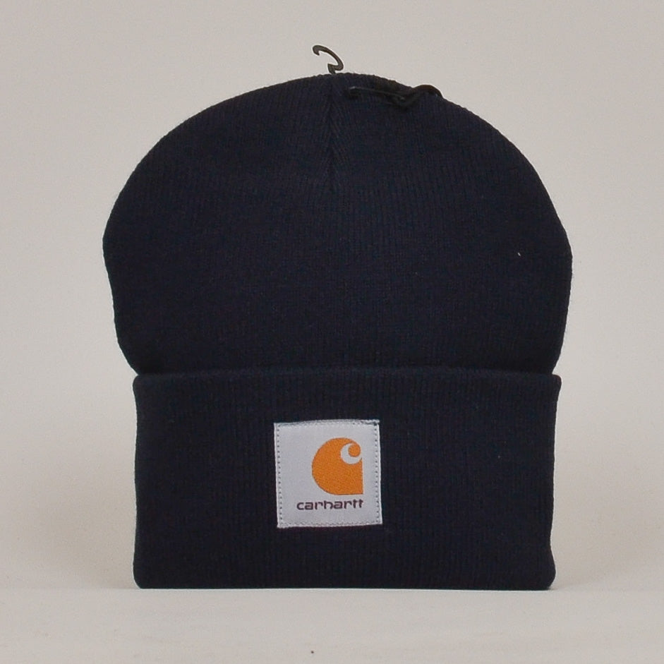 Carhartt WIP Short Watch Hat - Dark Navy