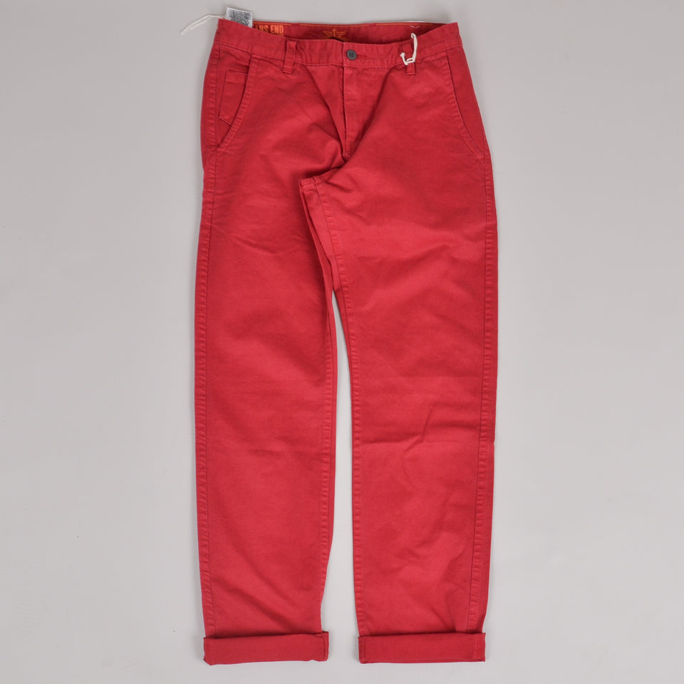 Dockers Alpha Slim Tapered Chino - Red