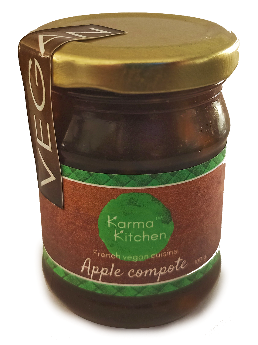 Apple compote French style
