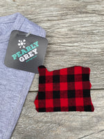 Buffalo Plaid Baby Bib ALL States