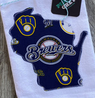 Milwaukee Brewers Wisconsin Kitchen Towel Tea Towel Flour Sack Towel
