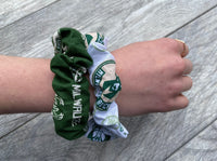 Bucks Basketball Scrunchies