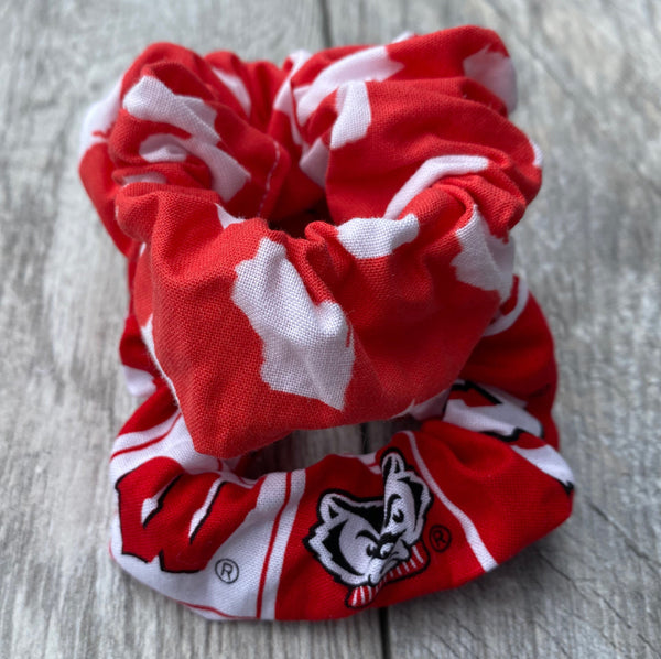Wisconsin & Badgers Scrunchies