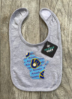 Milwaukee Brewers  Wisconsin Baby Bib