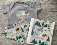 Adventure Awaits Baby gift set