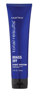 Matrix Total Results Brass Off Blonde Threesome