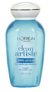 L'Oréal Paris Clean Artiste Eye Makeup Remover
