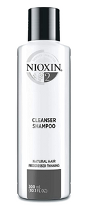 Nioxin 2 Cleanser Shampoo Natural Hair Progressed Thinning