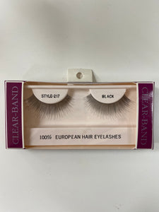 Beautee Sense Clear-band 100% European Hair Eyelashes - Style 217