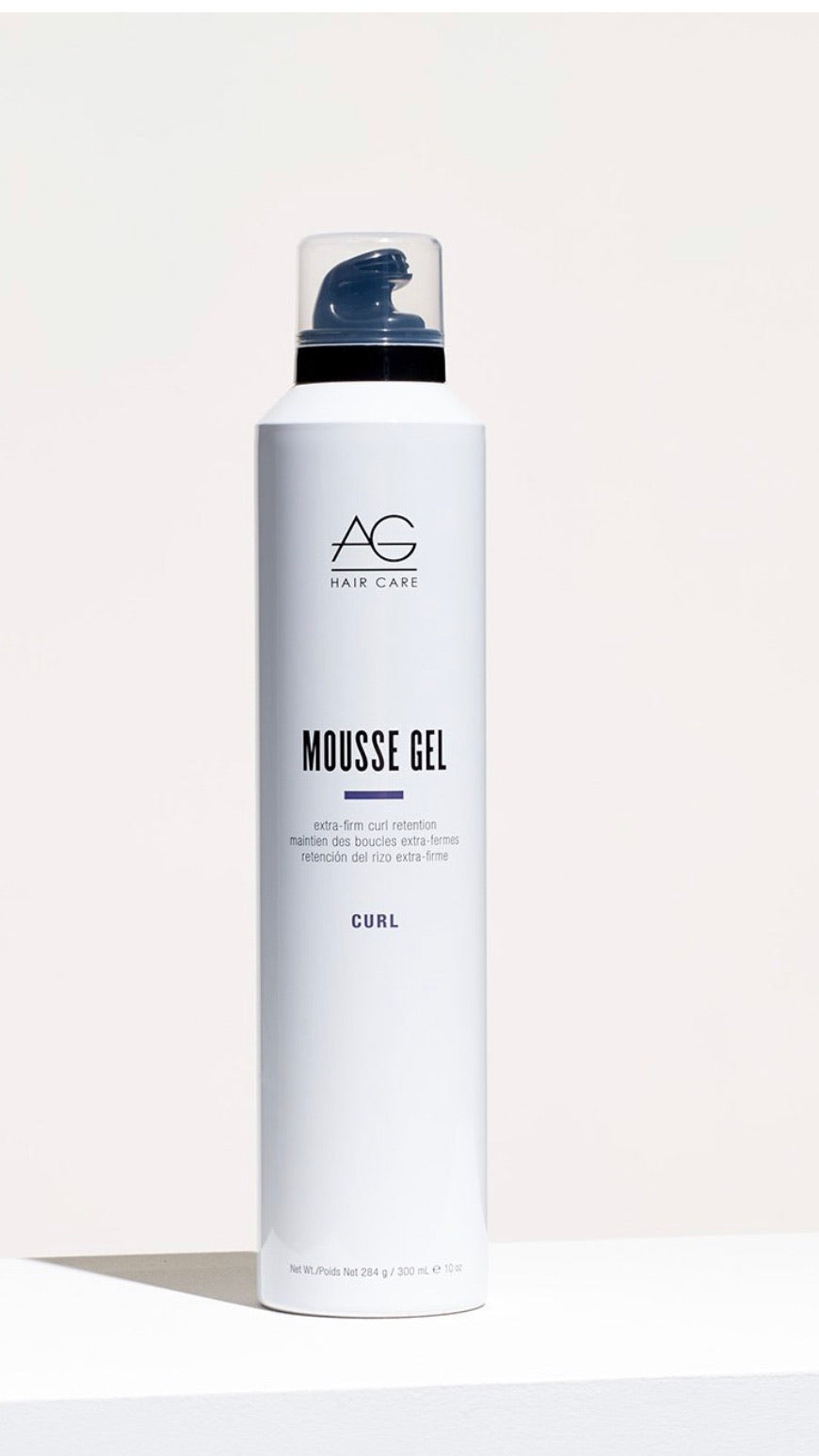 AG Hair Care Mousse Gel Extra-Firm Curl Retention Curl