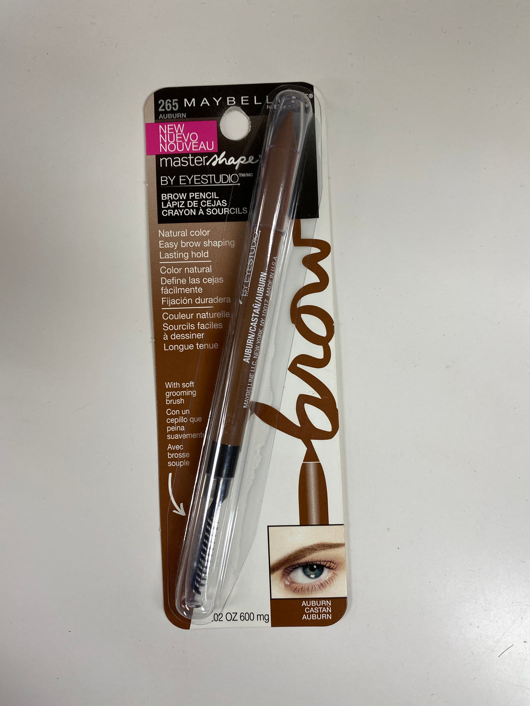 Maybelline Master Shape Brow Pencil - Auburn