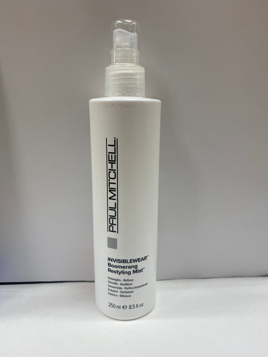 Paul Mitchell Invisible Wear Boomerang Restyling Mist
