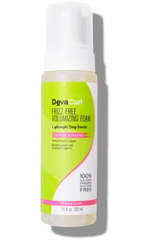 Deva Curl Frizz-Free Volumizing Foam