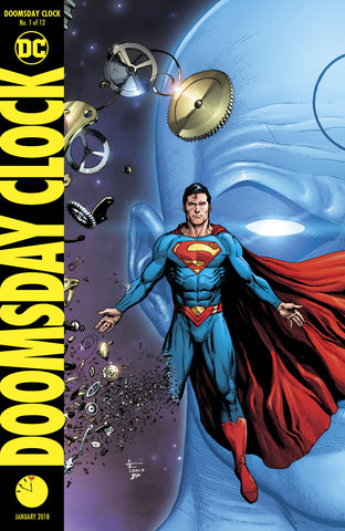 DOOMSDAY CLOCK #1 (OF 12) FRANK VAR ED