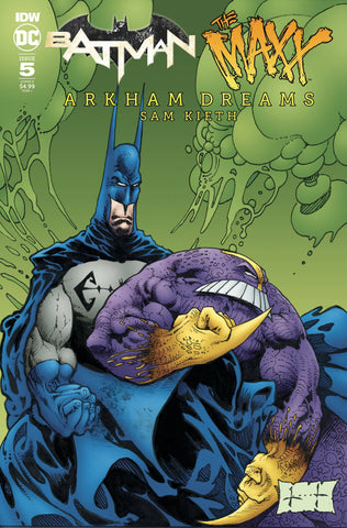 BATMAN THE MAXX ARKHAM DREAMS #5 (OF 5) CVR B KIETH