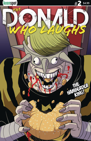 DONALD WHO LAUGHS #2 CVR B HAMBERDER KING (RES)