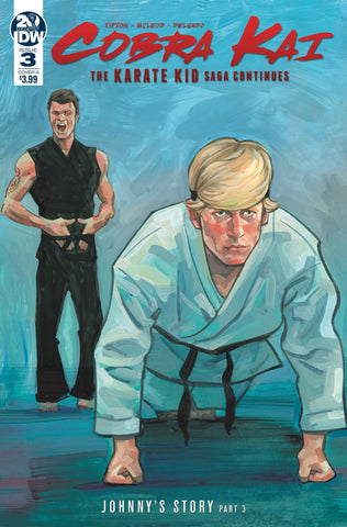 COBRA KAI KARATE KID SAGA CONTINUES #3 (OF 4) CVR A MCLEOD