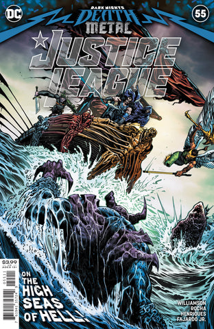 JUSTICE LEAGUE #55 DARK NIGHTS DEATH METAL