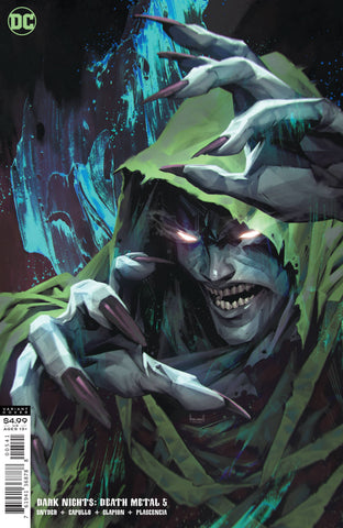 DARK NIGHTS DEATH METAL #5 (OF 7) CARD STOCK SPECTRE BY LUCI