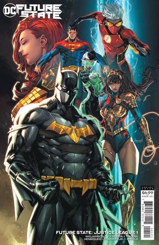 FUTURE STATE JUSTICE LEAGUE #1 CARD STOCK VAR ED