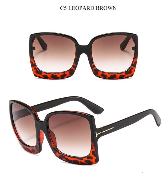 O-style Ladies 2020 New Oversized Square Sunglasses