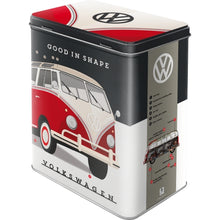 Load image into Gallery viewer, Storage Tin - VW Good In Shape