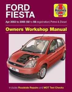 Ford Fiesta Petrol & Diesel Apr 02 - 08 (02 to 58 reg)
