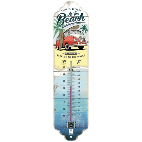 Thermometer - VW Bulli Beach