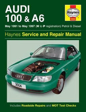 Load image into Gallery viewer, Audi 100 & A6 Owner's Workshop Manual