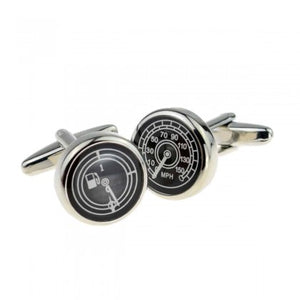Fuel Guage and Car Speedo Motor Cufflinks